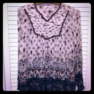 🍁🍁 NWT Autumn 🍂 Retreat boho top